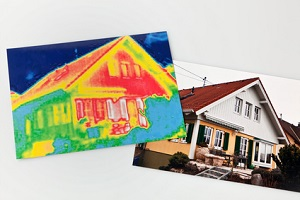 Haus ohne Dämmung